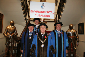 Environmental Cleaners in their Livery robes
