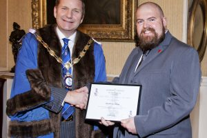 Honouring Manchester College for it's Contribution to Industry Training in 2015