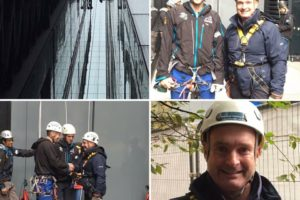 INTREPID FIVE abseil for The Lord Mayor's Appeal and the WCEC Charity Trust Raises £7900!