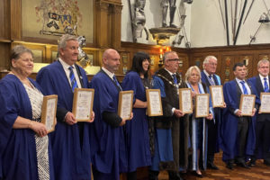 The Worshipful Company of Environmental Cleaners (WCEC) members are first group of members to be awarded Chartered Practitioner's status